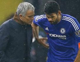 Diego Costa cãi nhau với Mourinho