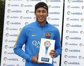 Neymar được vinh danh xuất sắc nhất tháng ở La Liga