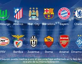 Xác định 16 đội lọt vào vòng knock-out Champions League