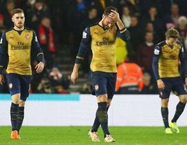 Arsenal thua thảm Southampton: Liệu đã đủ cảnh tỉnh Wenger?