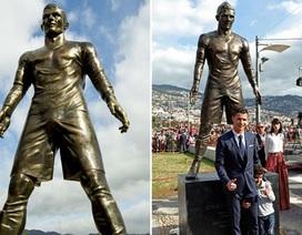 Cổ động viên nổi giận, phá hoại tượng của C.Ronaldo