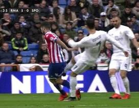 Hành động cực xấu của C.Ronaldo