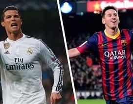 10 cầu thủ bán áo chạy nhất:  Messi vượt Ronaldo
