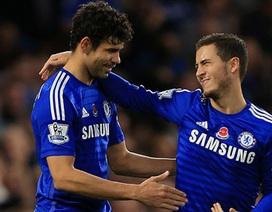 Costa, Hazard sẽ trở lại trong trận đại chiến gặp Arsenal