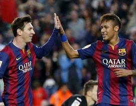 Barcelona đối diện với họa lớn vì Messi, Neymar