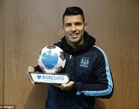 Sergio Aguero xuất sắc nhất tháng 1 Premier League