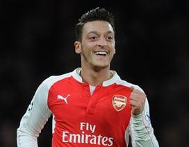 Mesut Ozil không còn là Vua kiến tạo ở châu Âu