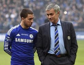 Eden Hazard nhắn tin xin lỗi Mourinho