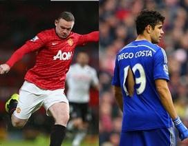"""Diego Costa - Rooney: """"Họng súng"""" nào đáng sợ hơn?"""
