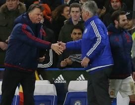 Van Gaal tiếc đứt ruột sau trận hòa Chelsea