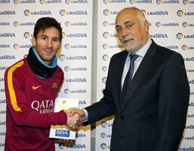 Messi lần đầu giành giải xuất sắc nhất tháng ở La Liga