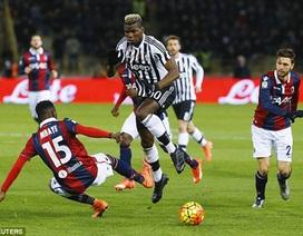 """Đứt mạch toàn thắng, Juventus có nguy cơ bị """"đá"""" khỏi ngôi đầu"""