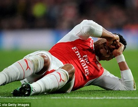 Chấn thương nặng, ngôi sao Arsenal có nguy cơ lỡ Euro 2016