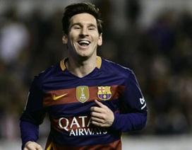 Cuộc đua Chiếc giày vàng châu Âu: Messi bức tốc ngoạn mục