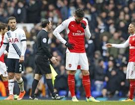 Arsenal từ biệt giấc mộng vô địch Premier League?