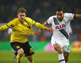 Lượt đi vòng 1/8 Europa League: Tottenham thua thảm