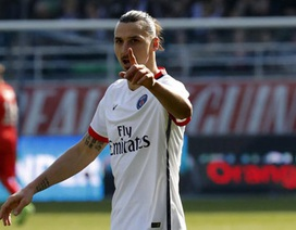 """Ibrahimovic: """"Nếu đập bỏ tháp Eiffel, thay bằng tượng Ibra, tôi sẽ ở lại"""""""