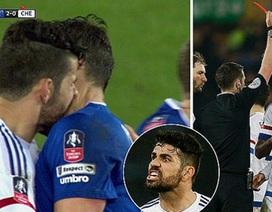 """""""Trong sạch"""" vụ cắn người, Diego Costa vẫn bị phạt"""