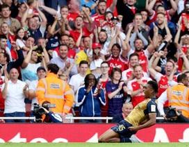 """""""Ngôi sao bí ẩn"""" Alex Iwobi của Arsenal là ai?"""