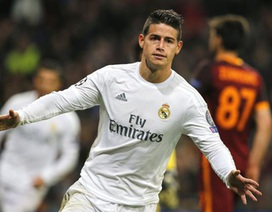 James Rodriguez bị cô lập ở Real Madrid