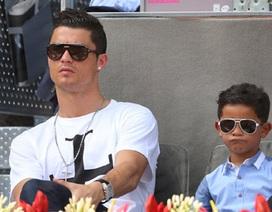 """C.Ronaldo: """"Tôi muốn con trai trở thành ngôi sao hàng đầu"""""""