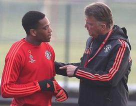 """Anthony Martial: """"HLV Van Gaal càng mắng, tôi càng vui"""""""
