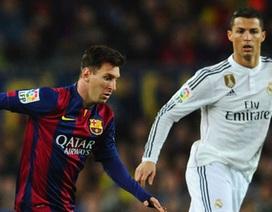 """Messi: """"C.Ronaldo xứng đáng nhận Quả bóng vàng"""""""