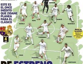 Real Madrid sẽ đá với đội hình mới ở El Clasico