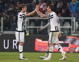Thắng trận thứ 5 liên tiếp, Juventus tiến gần hơn tới Scudetto