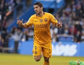 Cuộc đua Chiếc giày vàng châu Âu: Cờ bất ngờ đến tay Suarez