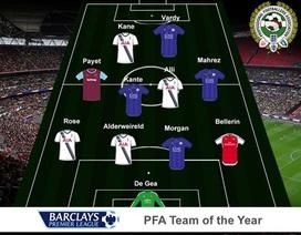 Đội hình tiêu biểu Premier League của PFA: Vắng Mesut Ozil