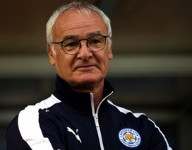 Ranieri bất ngờ thừa nhận tham vọng vô địch Premier League của Leicester