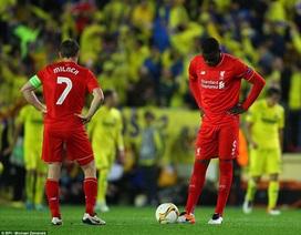 Liverpool thua đau Villarreal ở phút bù giờ