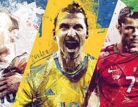 Poster tuyệt đẹp của 24 đội bóng tham dự Euro 2016