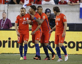 Quật ngã Panama trong trận cầu 6 bàn thắng, Chile giành vé đi tiếp