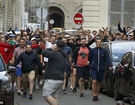 Cổ động viên Anh tiếp tục gây loạn tại Euro