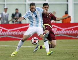 Messi và Higuain rực sáng, Argentina đại thắng Venezuela