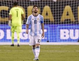 Messi bất ngờ tuyên bố từ giã đội tuyển Argentina ở tuổi 29