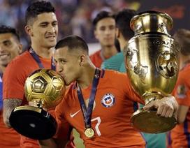 Chile thâu tóm mọi danh hiệu, Argentina nhận giải an ủi