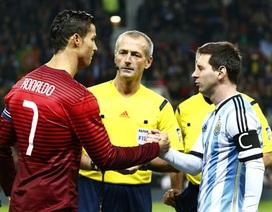 C.Ronaldo động viên, kêu gọi Messi không chia tay tuyển Argentina