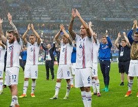 Hành động đẹp của cầu thủ Iceland sau thảm bại trước Pháp