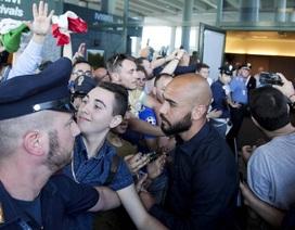 Đội tuyển Italia được chào đón như những người hùng tại quê nhà