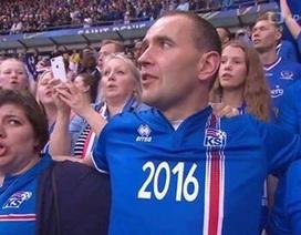 Hành động đẹp của Tổng thống Iceland ở trận gặp Pháp