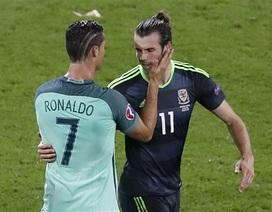 "Gareth Bale: ""C.Ronaldo sinh ra để ghi bàn"""