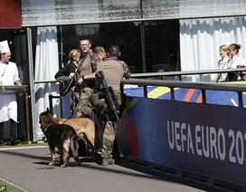 Vật thể lạ bị phát hiện gần khách sạn của tuyển Pháp trước trận chung kết