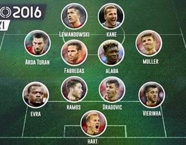 Đội hình gây thất vọng nhất Euro 2016