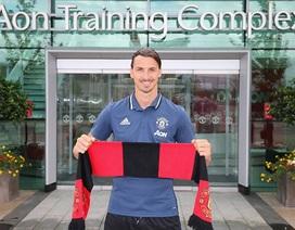 MU công bố số áo: Ibrahimovic khoác áo số 9 của Martial