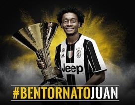 Juventus tái sở hữu tiền vệ Juan Cuadrado của Chelsea