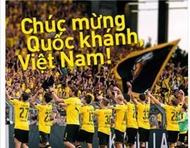 Nhiều CLB hàng đầu châu Âu chúc mừng Quốc khánh Việt Nam