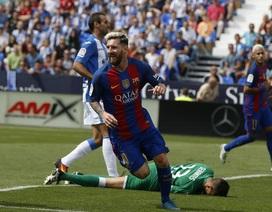 Messi xô đổ kỷ lục của Raul